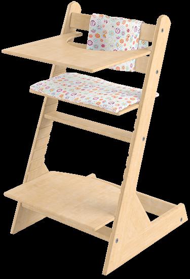 Детский стульчик Чилд сделан из березы