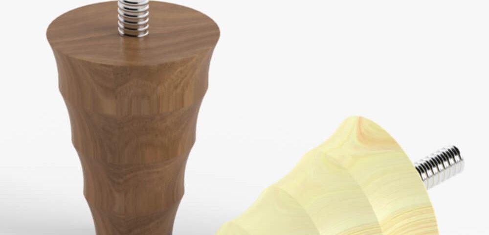 Деревянная опора для мебели 014