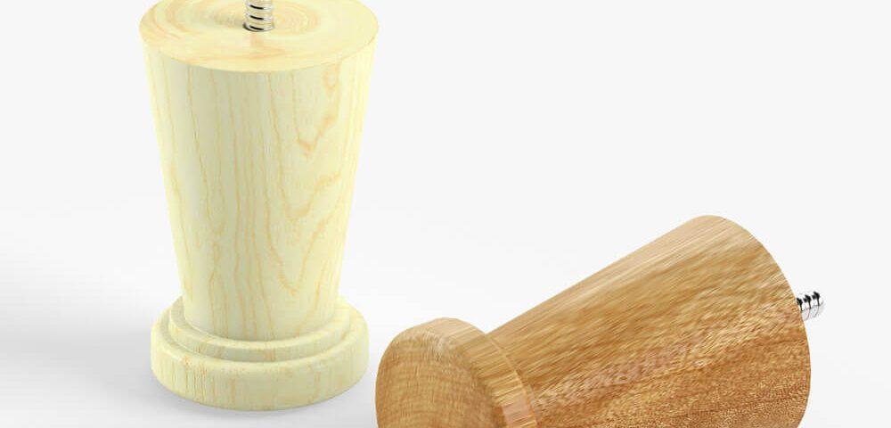 Деревянная опора для мебели 016