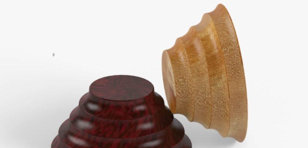 Деревянная опора для мебели 017