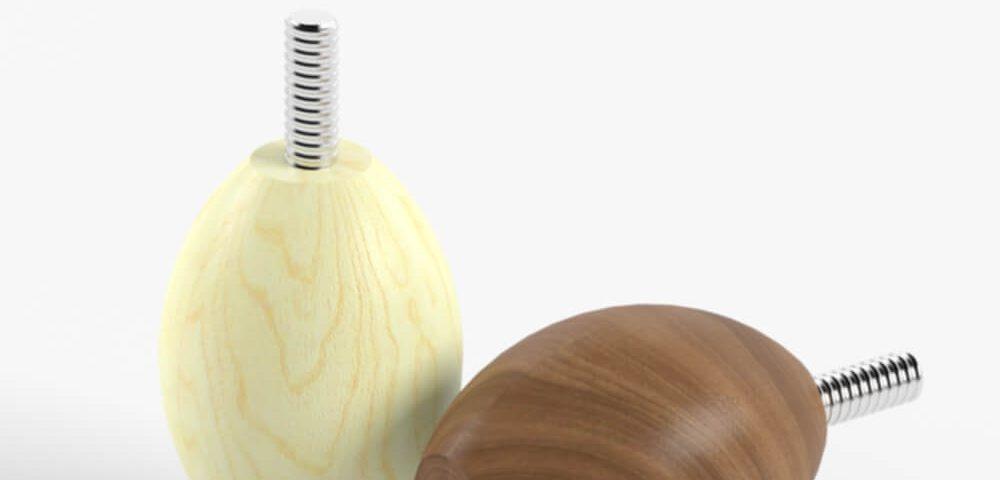 Деревянная опора для мебели 019