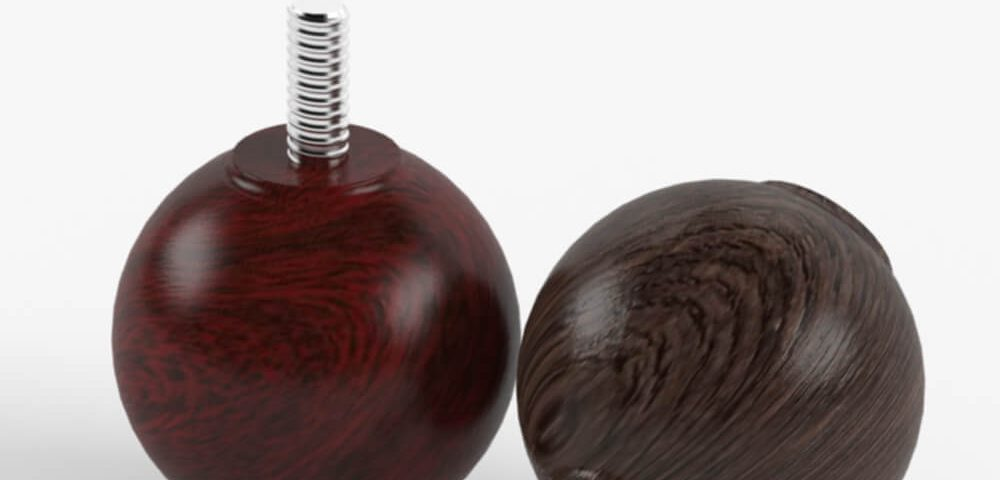 Деревянная опора для мебели 023