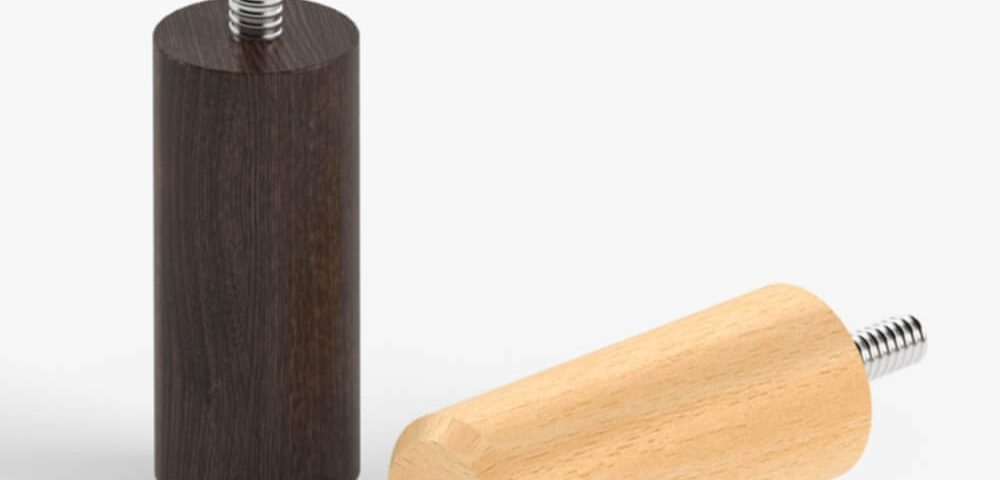 Деревянная опора для мебели 028