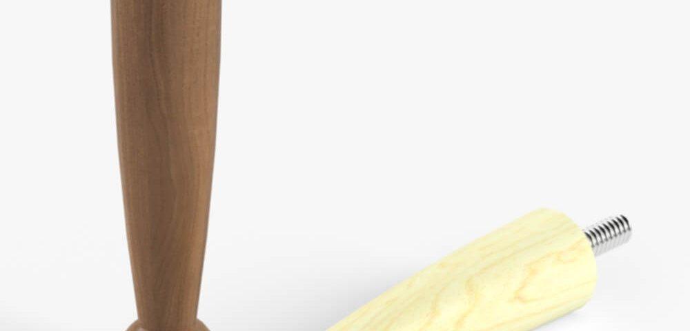 Деревянная опора для мебели 031