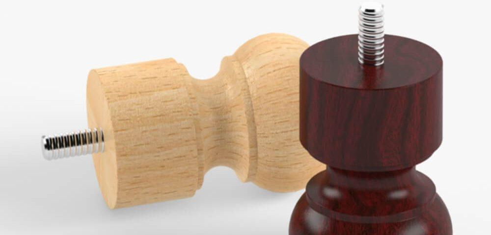 Деревянная опора для мебели 036